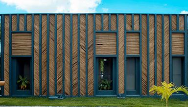 巴西:公寓竹房子 竹装饰