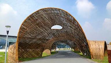 竹材作为建筑材料的历史源流-竹建筑