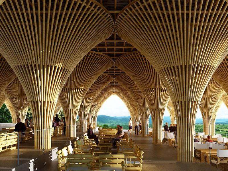 竹建筑构件设计需要注意哪些