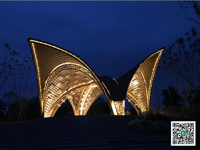 成都新希望竹建筑工程项目竣工