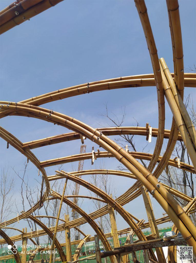 竹结构房屋设计中材料的选择和运用