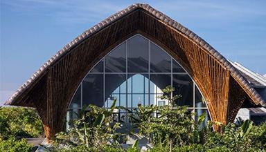 越南:卡萨米亚社区之家 现代竹建筑