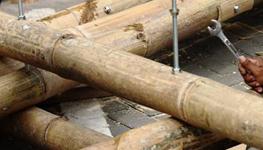 原竹建筑连接节点(二)