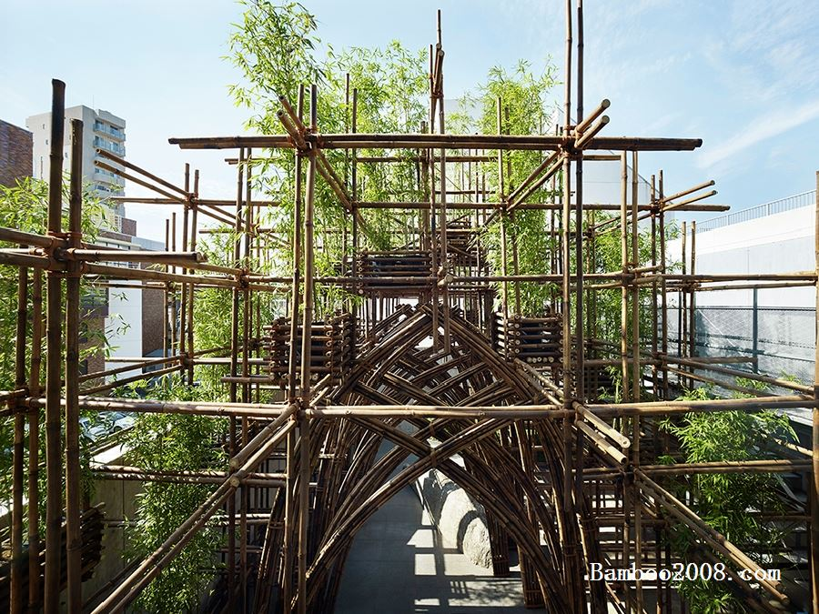 竹结构式竹建筑的一些技术问题
