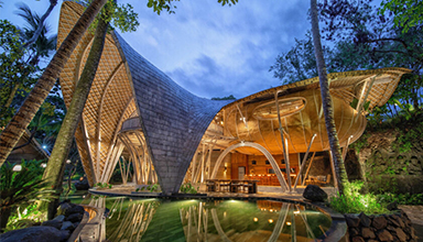竹材作为建筑材料的历史源流-竹结构-竹装饰