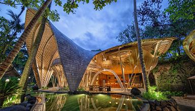 竹材作为建筑材料的历史源流-竹结构-竹建筑-境道原竹建筑