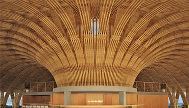 竹建筑为什么可以冬暖夏凉?