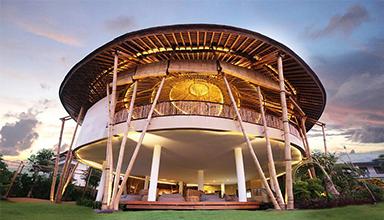 竹建筑毫无疑问是低碳环保的产品