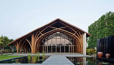 越南:岘港纳缦会议中心 竹建筑