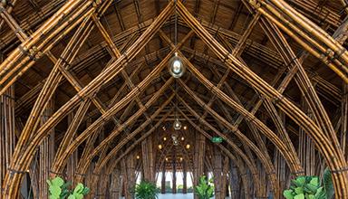 越南 :Nocenco咖啡厅 竹建筑