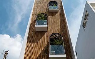 越南:竹墙面 竹装饰