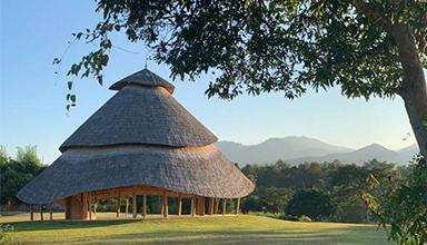 泰国:竹凉亭 竹景观