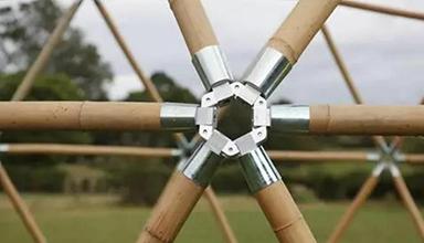 详细介绍竹结构连接件节点(图)