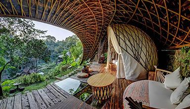 现代竹屋-素雅中透着坚韧,低调中透露着高品质
