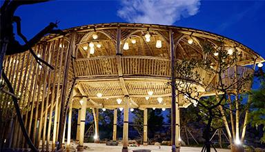 泰国:全竹结构 咖啡楼 竹建筑