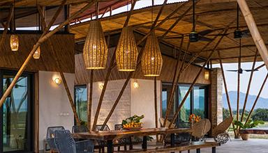 墨西哥:Traversa 竹房子  竹编建筑