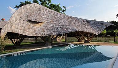 泰国:panyaden school 竹建筑