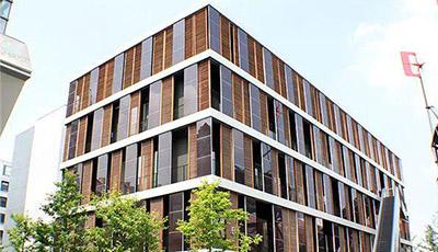 现代竹结构建筑典范-世博园马德里案例馆