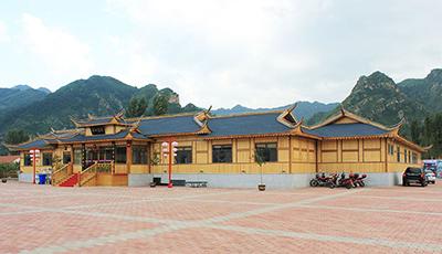 两款精雕细琢的竹屋建筑设计效果图