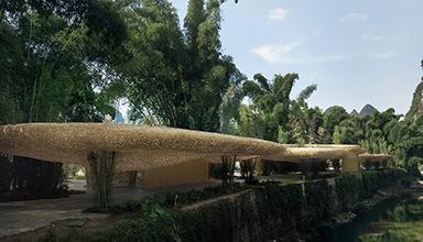 盘点国内令人惊叹的竹编建筑工程项目