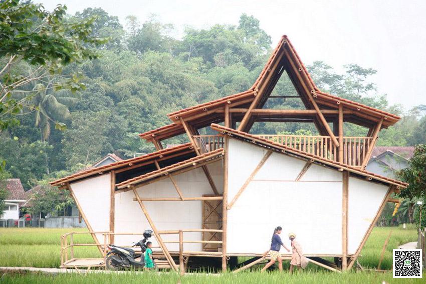 你可否知道竹屋屋顶设计五种形状么?