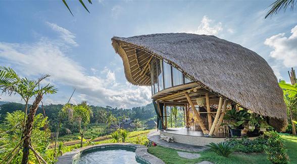 盘点印尼知名特色竹屋 现代竹别墅建筑项目 一个流连忘返的家