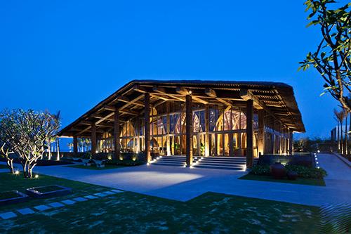盘点世界各国用竹子打造的特色竹建筑餐厅 令人流连忘返